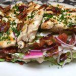 Grilled Chicken Wedge Salad